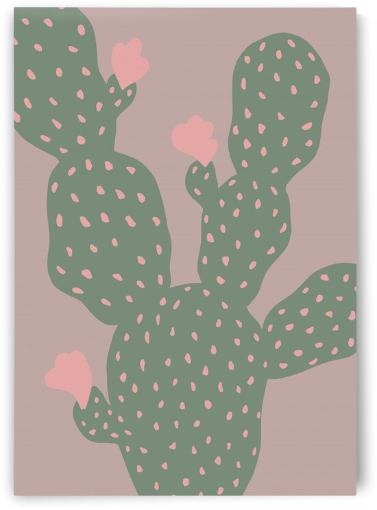 Green Cactus by 1x