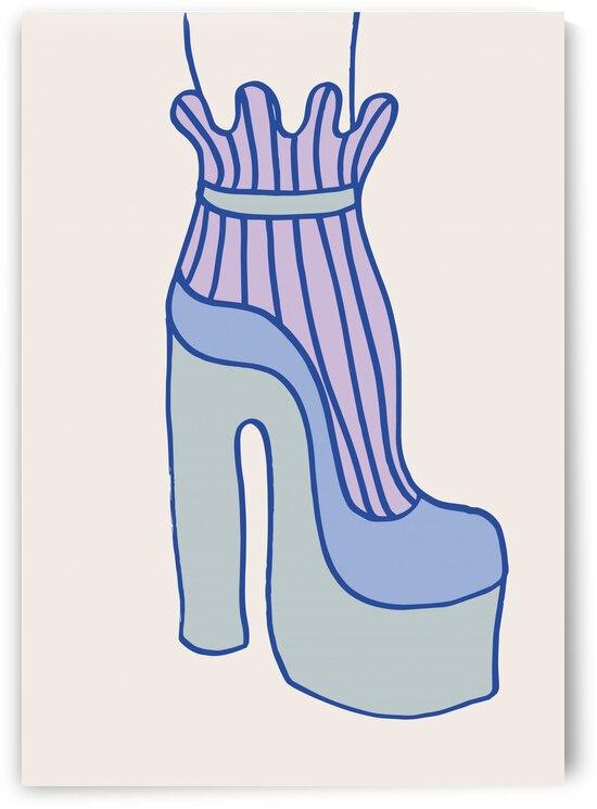 Blue Heel by 1x