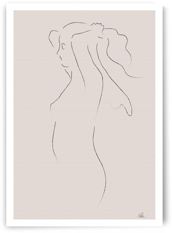 Woman Sketch by 1x