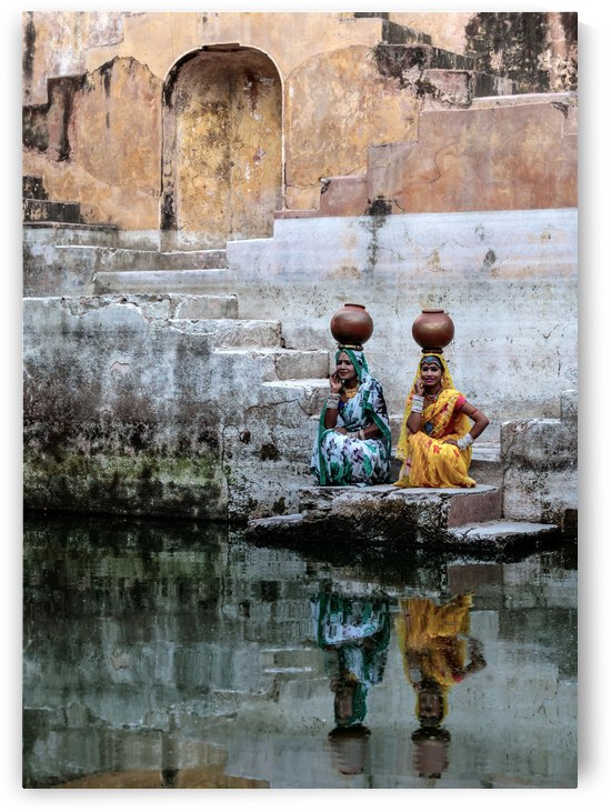 Stepwell Reflections by 1x