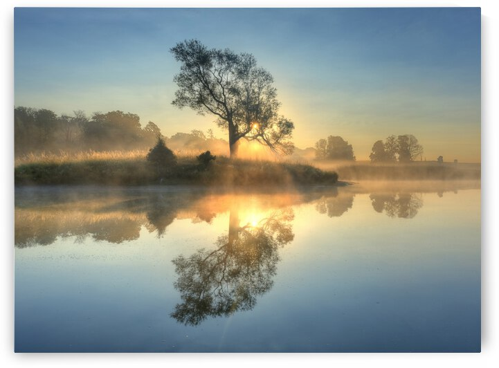 Morning reflection by 1x