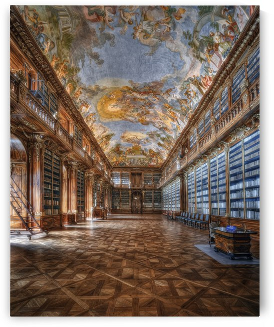 Philosophical hall Strahov Monastery by 1x