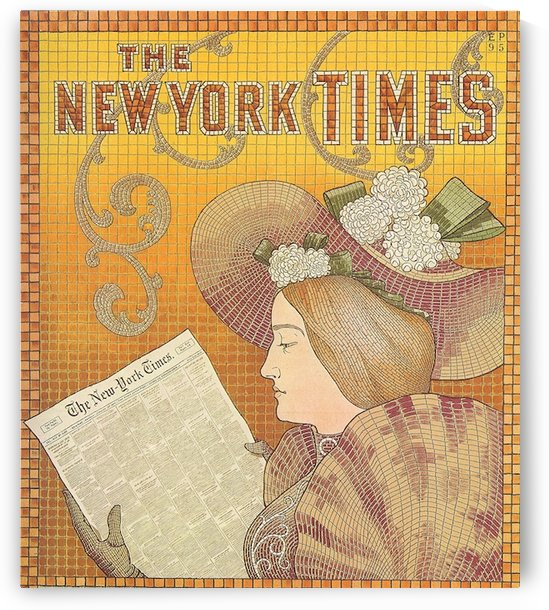 NY Times by VINTAGE POSTER