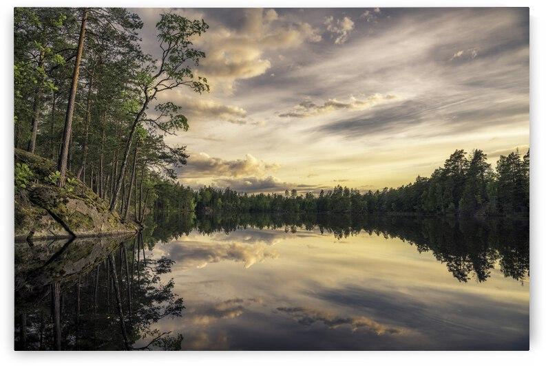 Lake tarmsjApn, Sweden by 1x