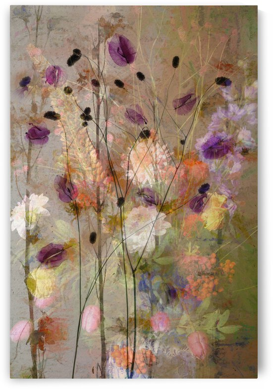 Painterly flowers by 1x