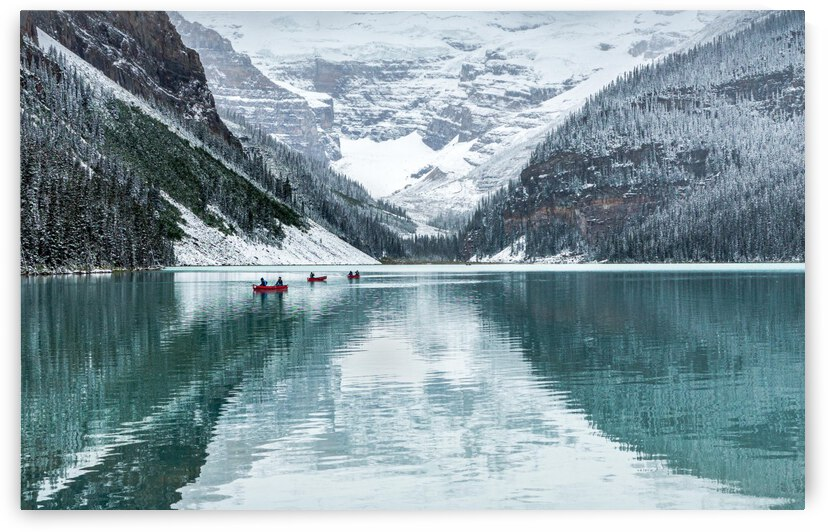 Peaceful Lake Louise by 1x