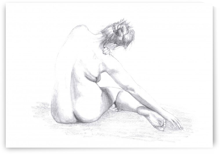 Sketch of a Woman by 1x