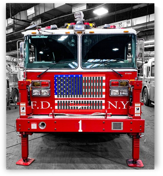 Ladder 1 In The Shop by Patricia Gontz