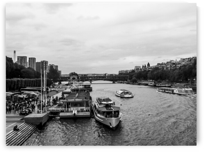 Seine River by Andre Luis Leme