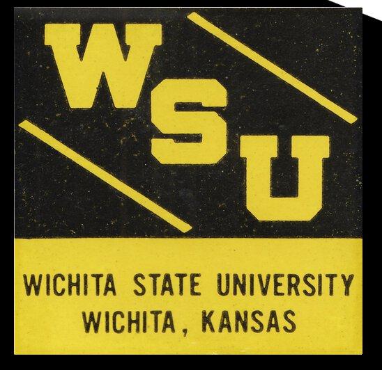 1964 Wichita State University  by Row One Brand
