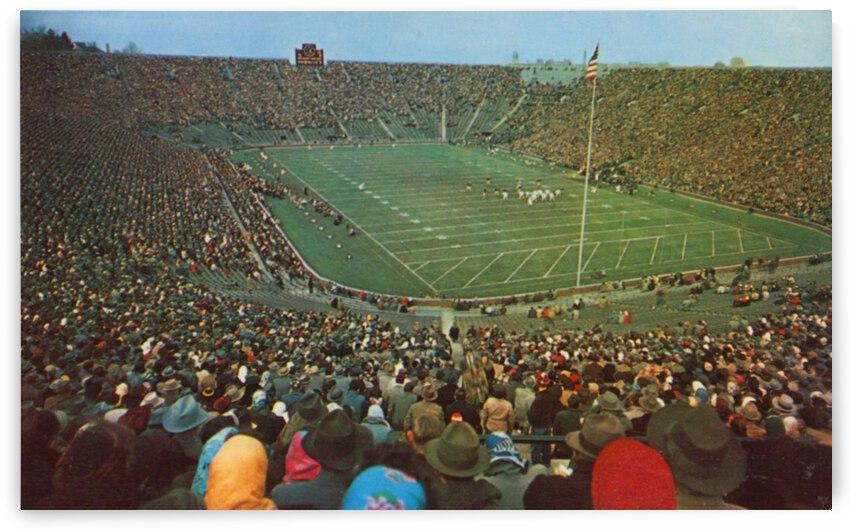 Vintage Fifties Michigan Stadium Gameday by Row One Brand