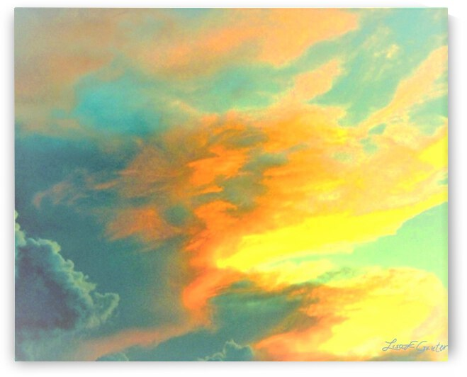 A Face In The Cloud by Lisa E Gunter