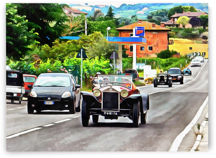 Classic Cars Coming to Town by Dorothy Berry-Lound