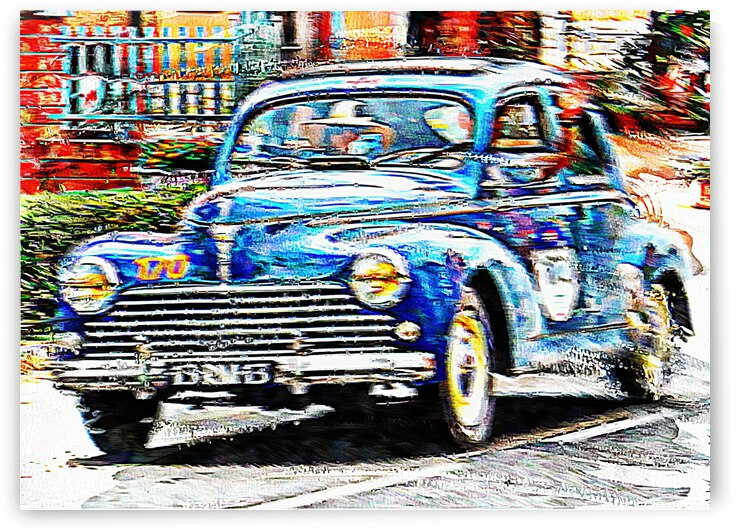 Classic Car In A Hurry by Dorothy Berry-Lound