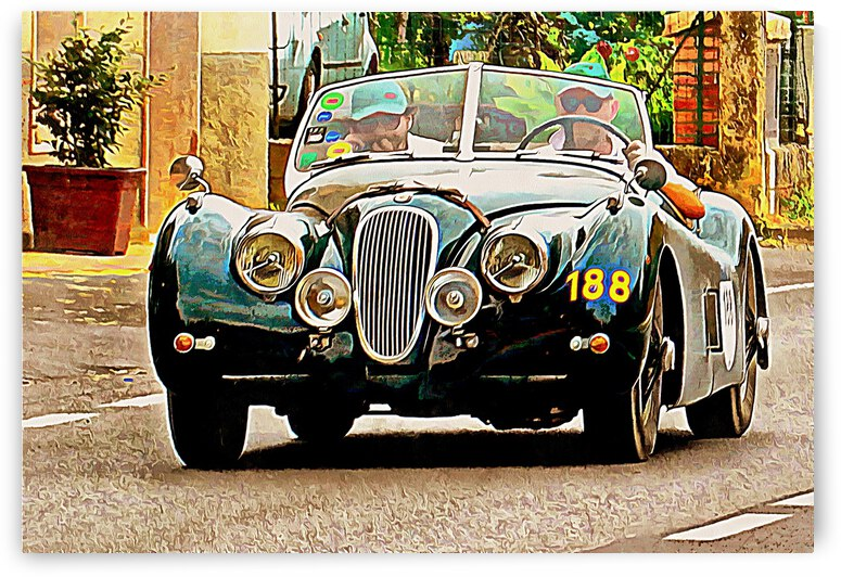 Concentration at the MilleMiglia by Dorothy Berry-Lound