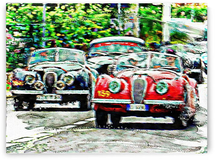Classic Cars On The Move by Dorothy Berry-Lound