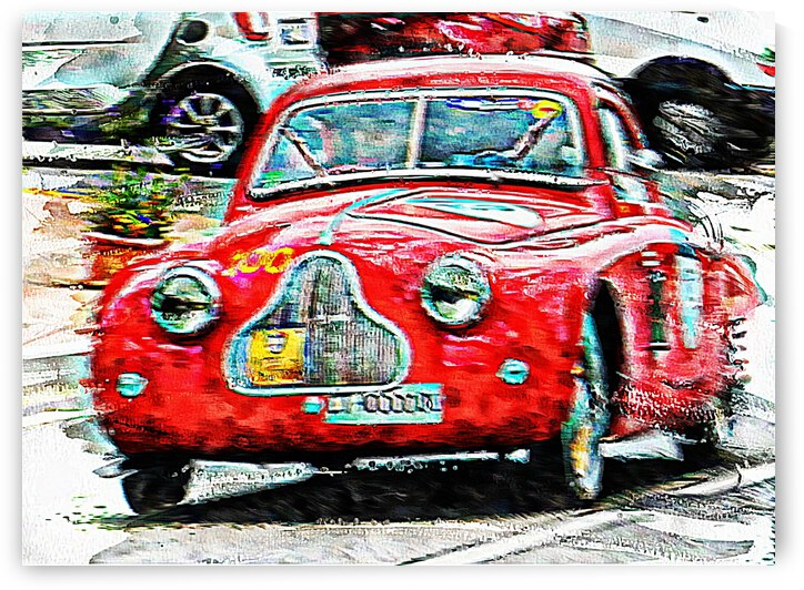 Racing Red in the MilleMiglia by Dorothy Berry-Lound