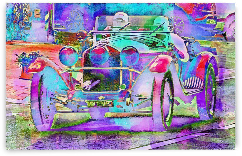 Dreaming of a Classic Car by Dorothy Berry-Lound