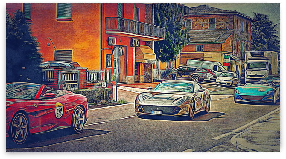 Racing Ferraris by Dorothy Berry-Lound