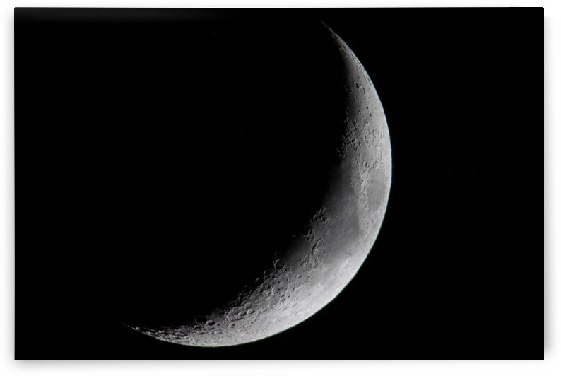 21% Waxing Crescent 6-14-21. by Jerrid Lavoie