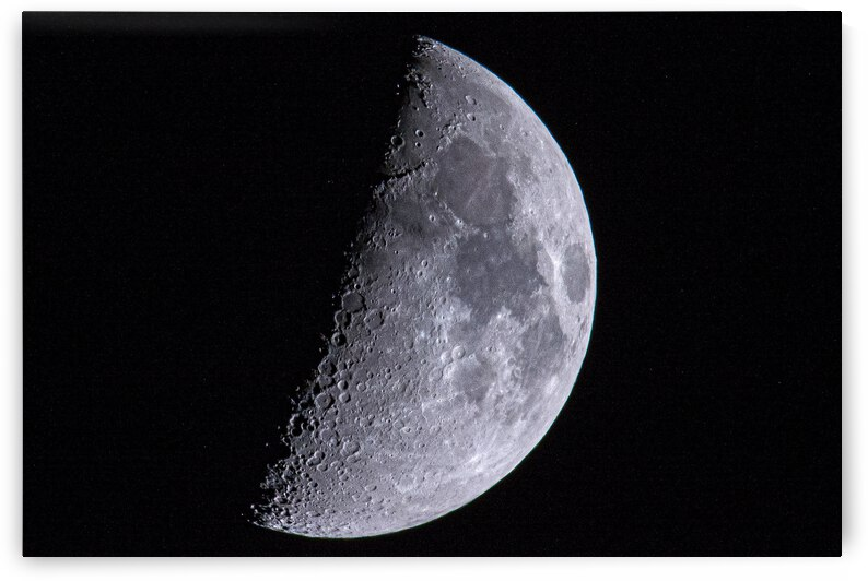 First Quarter Moon 6-17-21. by Jerrid Lavoie