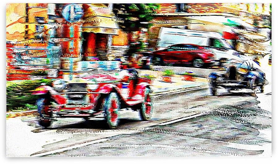 Speeding Through Town by Dorothy Berry-Lound