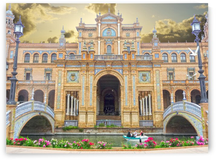 Plaza de Espana   Seville Spain   Andalusia by 1North