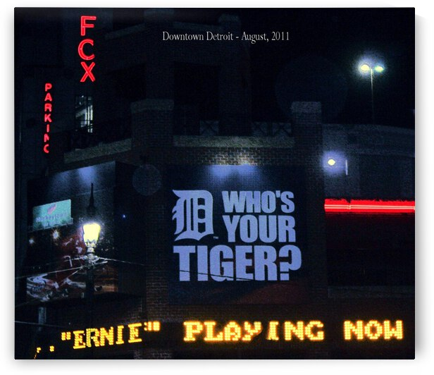 The D and Fox Theater  by Ellen Barron O-Reilly