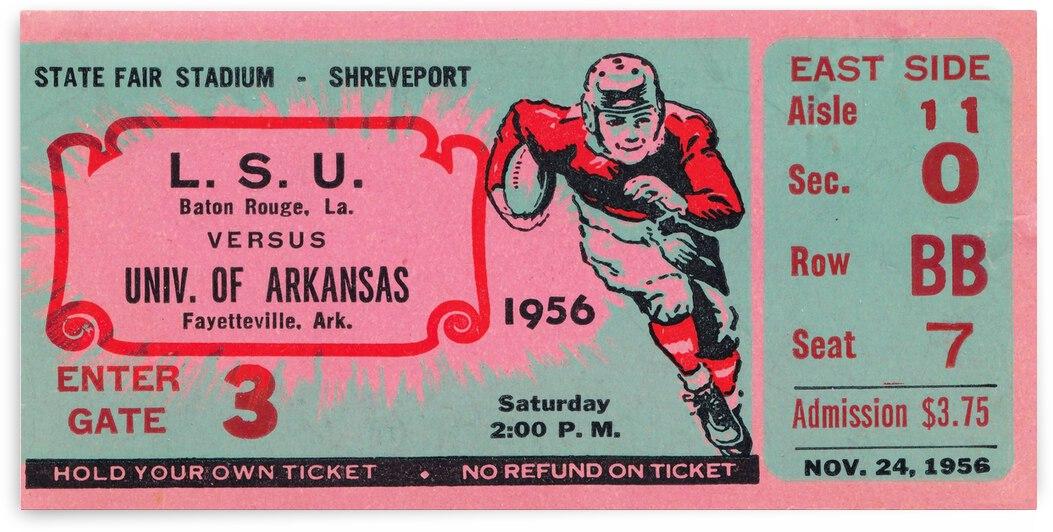 1956 LSU vs. Arkansas by Row One Brand