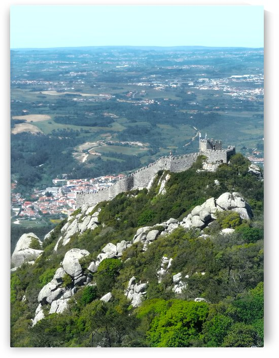 Castelo dos Mouros - Castle of the Moors - Sintra Portugal by 1North