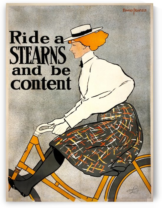 Ride a Stearns by VINTAGE POSTER