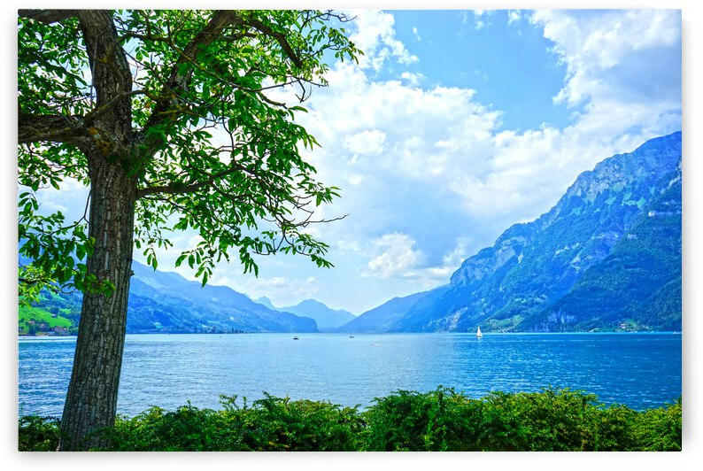 Snapshot in Time Walensee - Lake Walen Switzerland 3 of 3 by 1North