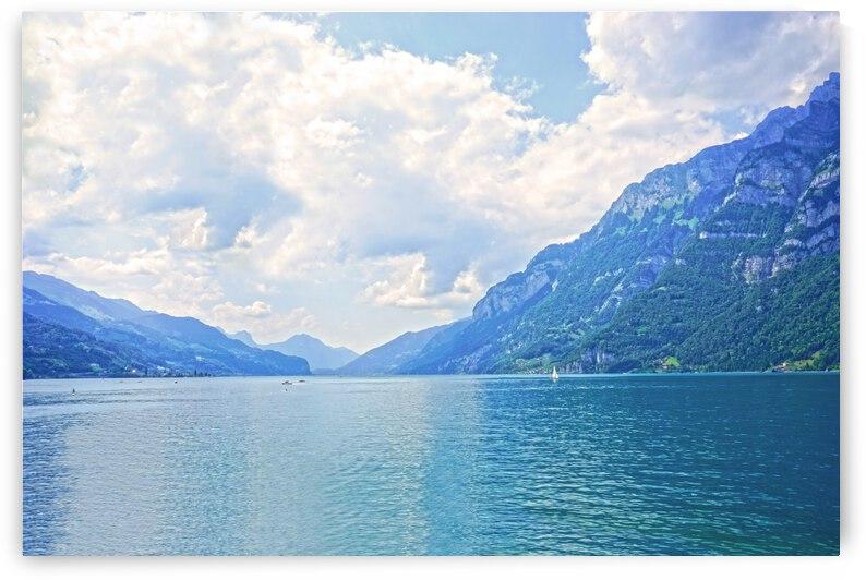 Walensee - Lake Walen Switzerland by 24