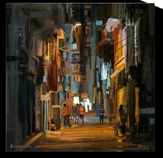 LateNightStreet by ARTSCAPES