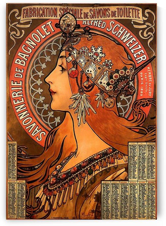 Savonnerie de Bagnolet by Alphonse Mucha by VINTAGE POSTER