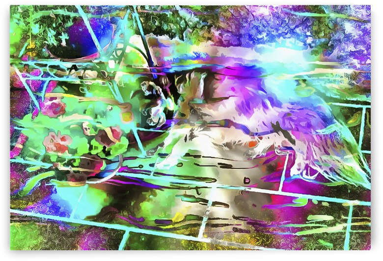 Cool Color Dreaming by Dorothy Berry-Lound