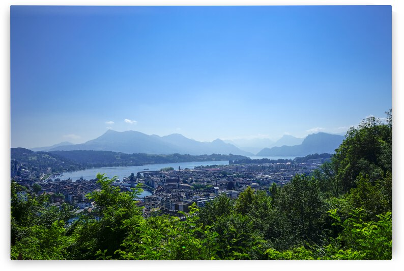 Lake Lucerne and the Central Swiss Alps by 24