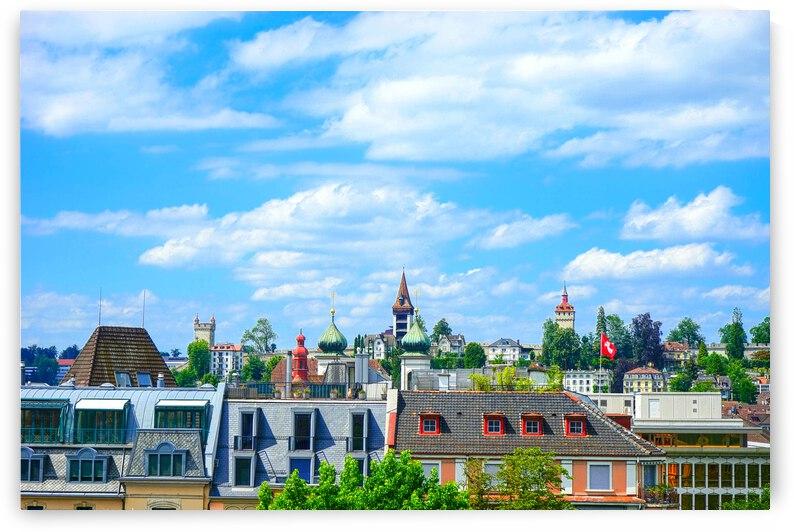 Skyline Lucerne Switzerland by 1North