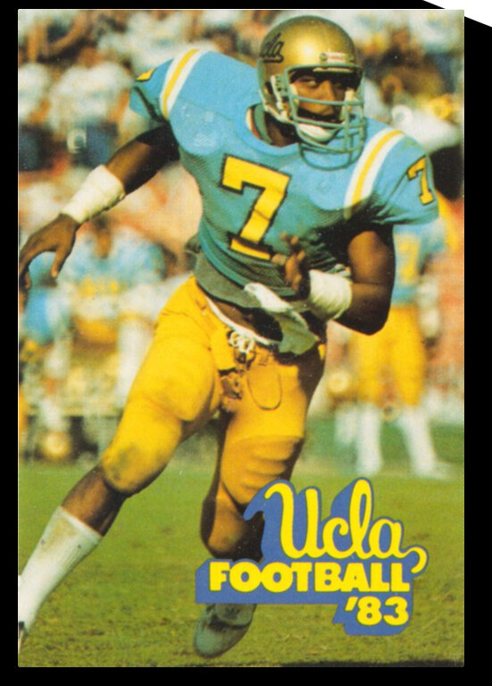 1983 UCLA Bruins Football Poster by Row One Brand