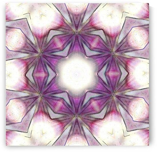 Purple Mandala by Jenn Rosner