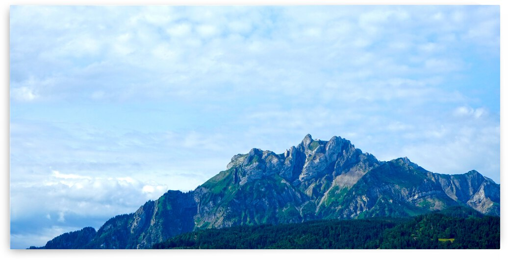 Panorama of Mount Pilatus Central Swiss Alps Lucerne Switzerland by 24