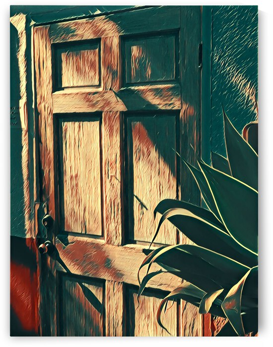 Old Town Door 2 by Mary Jo s Art Inspirations