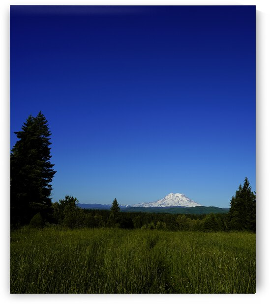 Mount Rainier at Sunset Pacific Northwest Washington State by 1North