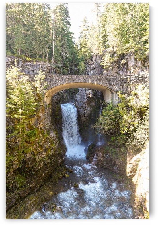 Christine Falls Mount Rainier Pacific Northwest Washington by 360 Studios
