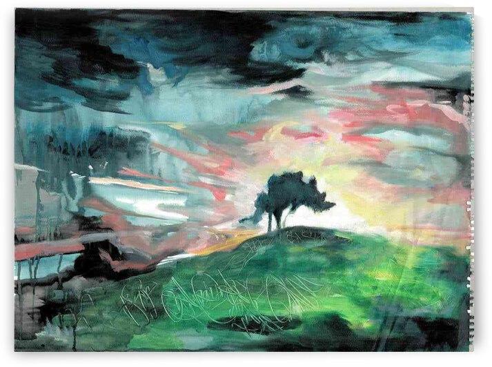 Tree Landscape 3 Contrast by Lauren V
