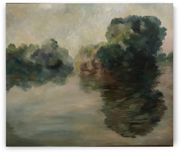 Monet study two by Cene