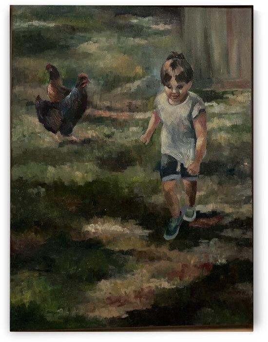Chicken run by Cene