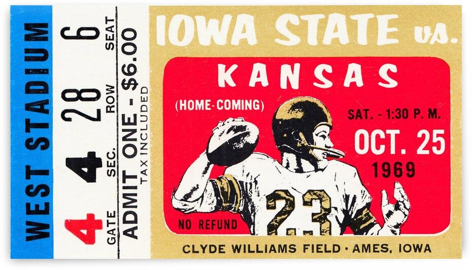 1969 Kansas vs. Iowa State by Row One Brand