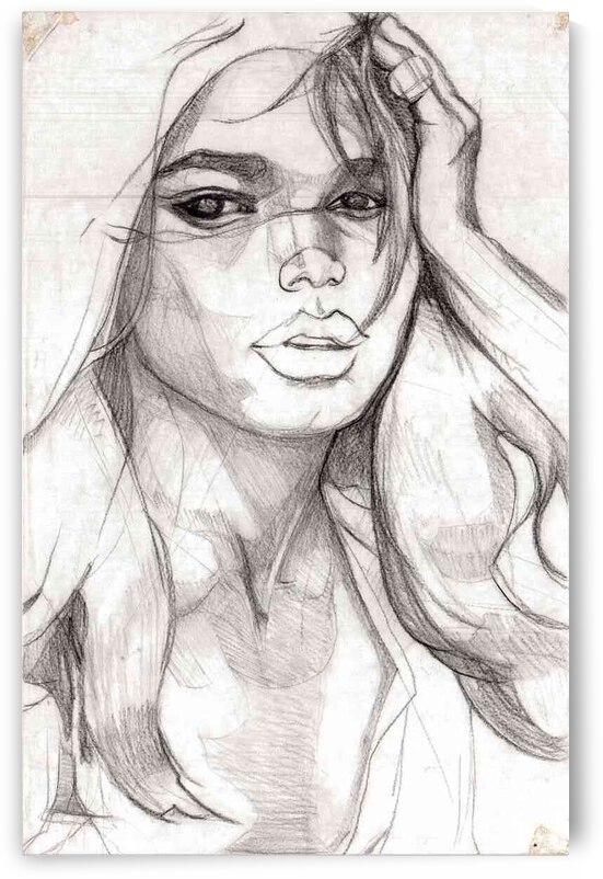 female face by Lauren V