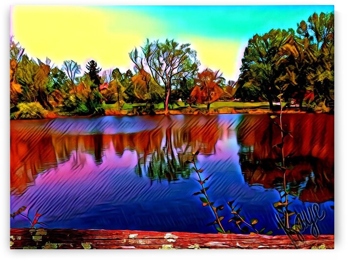 Lovers Lake by Kaye Baby